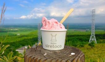 開陽台で「シレトコ・ジェラート」を味わおう